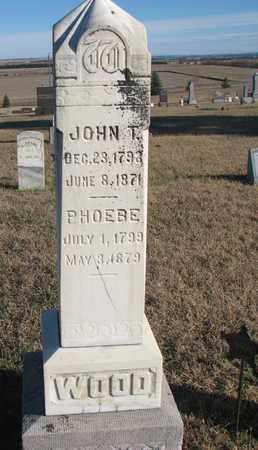 WOOD, JOHN T. - Bon Homme County, South Dakota | JOHN T. WOOD - South Dakota Gravestone Photos