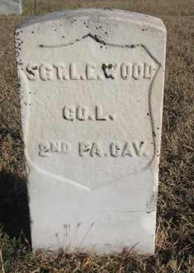 WOOD, L.E. - Bon Homme County, South Dakota   L.E. WOOD - South Dakota Gravestone Photos