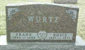 WURTZ, FRANK - Bon Homme County, South Dakota | FRANK WURTZ - South Dakota Gravestone Photos