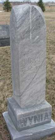 WYNIA, DIRK S. - Bon Homme County, South Dakota | DIRK S. WYNIA - South Dakota Gravestone Photos
