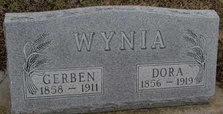 WYNIA, DORA - Bon Homme County, South Dakota | DORA WYNIA - South Dakota Gravestone Photos