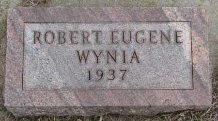 WYNIA, ROBERT EUGENE - Bon Homme County, South Dakota | ROBERT EUGENE WYNIA - South Dakota Gravestone Photos