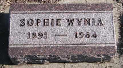 WYNIA, SOPHIE - Bon Homme County, South Dakota | SOPHIE WYNIA - South Dakota Gravestone Photos
