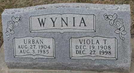 WYNIA, VIOLA T. - Bon Homme County, South Dakota | VIOLA T. WYNIA - South Dakota Gravestone Photos