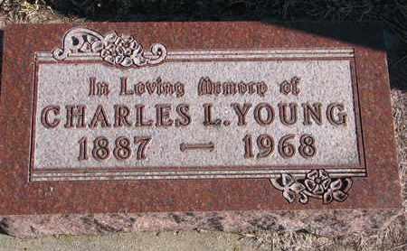 YOUNG, CHARLES L. - Bon Homme County, South Dakota | CHARLES L. YOUNG - South Dakota Gravestone Photos