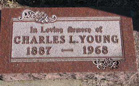 YOUNG, CHARLES L. - Bon Homme County, South Dakota | CHARLES L. YOUNG - South Dakota Gravestone Photos