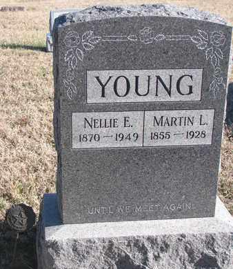 YOUNG, NELLIE E. - Bon Homme County, South Dakota | NELLIE E. YOUNG - South Dakota Gravestone Photos