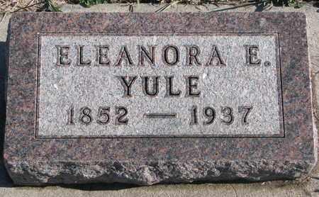 YULE, ELEANORA E - Bon Homme County, South Dakota | ELEANORA E YULE - South Dakota Gravestone Photos