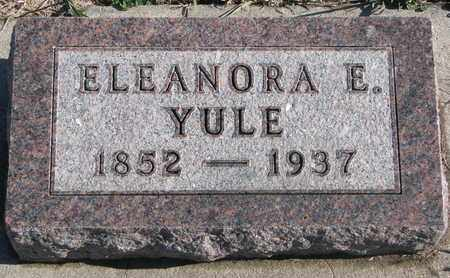 YULE, ELEANORA E - Bon Homme County, South Dakota | ELEANORA E YULE - South Dakota Gravestone Photos