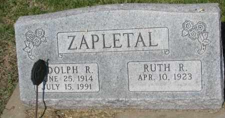 ZAPLETAL, RUTH R. - Bon Homme County, South Dakota | RUTH R. ZAPLETAL - South Dakota Gravestone Photos