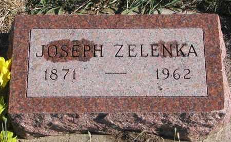 ZELENKA, JOSEPH - Bon Homme County, South Dakota | JOSEPH ZELENKA - South Dakota Gravestone Photos