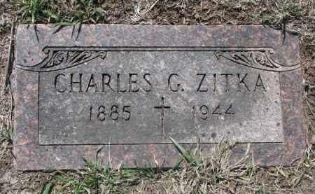 ZITKA, CHARLES G. - Bon Homme County, South Dakota | CHARLES G. ZITKA - South Dakota Gravestone Photos