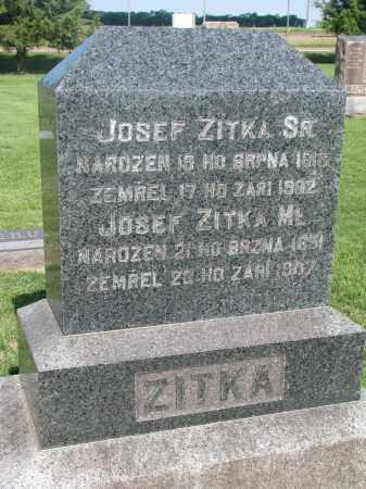 ZITKA, JOSEF SR. - Bon Homme County, South Dakota | JOSEF SR. ZITKA - South Dakota Gravestone Photos