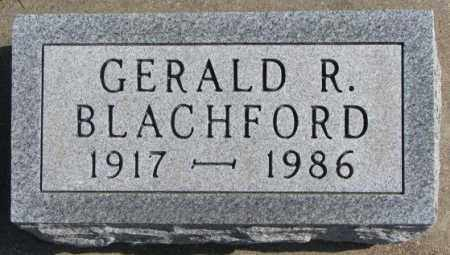 BLACHFORD, GERALD R. - Brookings County, South Dakota | GERALD R. BLACHFORD - South Dakota Gravestone Photos