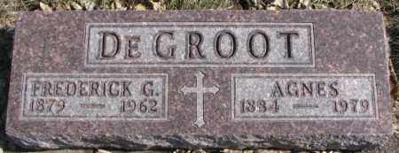 DEGROOT, FREDERICK G. - Brookings County, South Dakota | FREDERICK G. DEGROOT - South Dakota Gravestone Photos