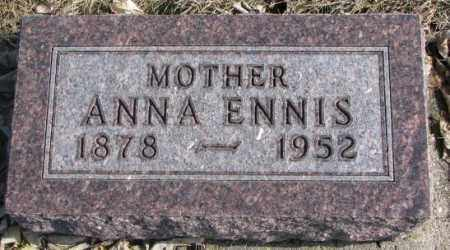 ENNIS, ANNA - Brookings County, South Dakota | ANNA ENNIS - South Dakota Gravestone Photos