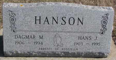 HANSON, DAGMAR M. - Brookings County, South Dakota | DAGMAR M. HANSON - South Dakota Gravestone Photos