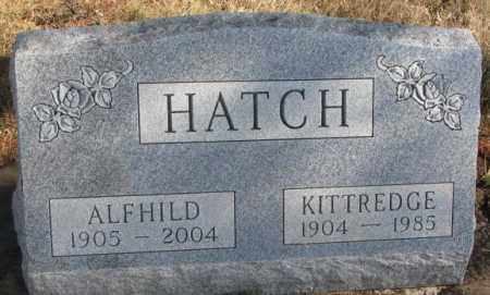 HATCH, ALFHILD - Brookings County, South Dakota | ALFHILD HATCH - South Dakota Gravestone Photos