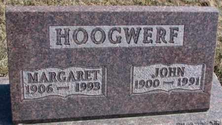 HOOGWERF, MARGARET - Brookings County, South Dakota | MARGARET HOOGWERF - South Dakota Gravestone Photos