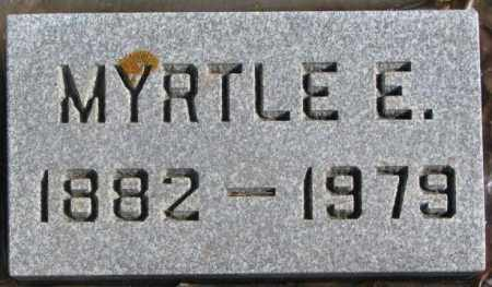 HOWELL, MYRTLE E. - Brookings County, South Dakota | MYRTLE E. HOWELL - South Dakota Gravestone Photos