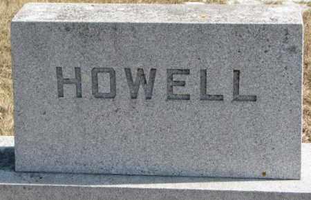 HOWELL, PLOT - Brookings County, South Dakota | PLOT HOWELL - South Dakota Gravestone Photos