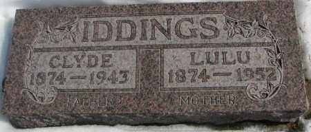 IDDINGS, LULU - Brookings County, South Dakota | LULU IDDINGS - South Dakota Gravestone Photos