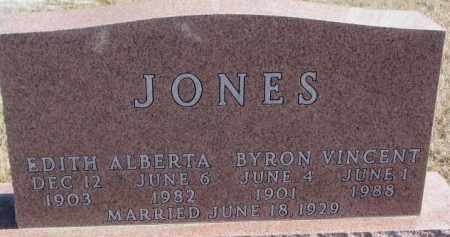 JONES, EDITH ALBERTA - Brookings County, South Dakota | EDITH ALBERTA JONES - South Dakota Gravestone Photos