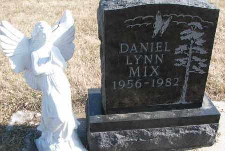 MIX, DANIEL LYNN - Brookings County, South Dakota | DANIEL LYNN MIX - South Dakota Gravestone Photos