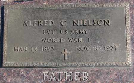 NIELSON, ALFRED C. (WW I) - Brookings County, South Dakota | ALFRED C. (WW I) NIELSON - South Dakota Gravestone Photos