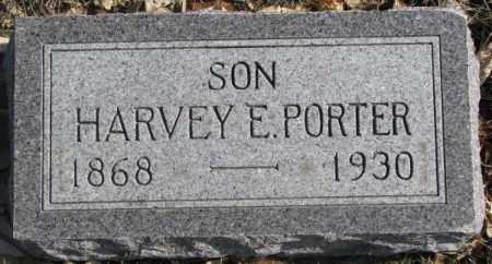 PORTER, HARVEY E. - Brookings County, South Dakota | HARVEY E. PORTER - South Dakota Gravestone Photos