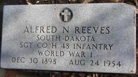 REEVES, ALFRED N. - Brookings County, South Dakota | ALFRED N. REEVES - South Dakota Gravestone Photos