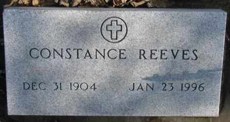 REEVES, CONSTANCE - Brookings County, South Dakota   CONSTANCE REEVES - South Dakota Gravestone Photos