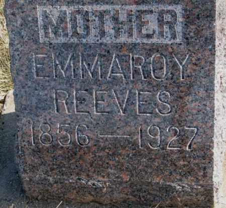 REEVES, EMMAROY - Brookings County, South Dakota   EMMAROY REEVES - South Dakota Gravestone Photos