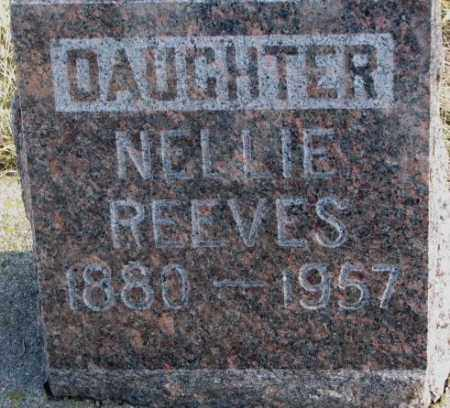 REEVES, NELLIE - Brookings County, South Dakota | NELLIE REEVES - South Dakota Gravestone Photos