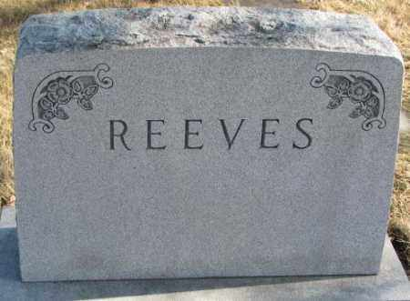 REEVES, PLOT - Brookings County, South Dakota | PLOT REEVES - South Dakota Gravestone Photos