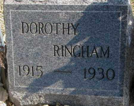 RINGHAM, DOROTHY - Brookings County, South Dakota | DOROTHY RINGHAM - South Dakota Gravestone Photos