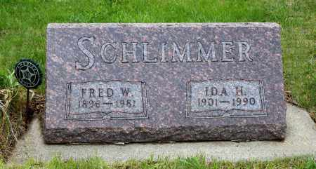 SCHLIMMER, FRED W. - Brookings County, South Dakota | FRED W. SCHLIMMER - South Dakota Gravestone Photos