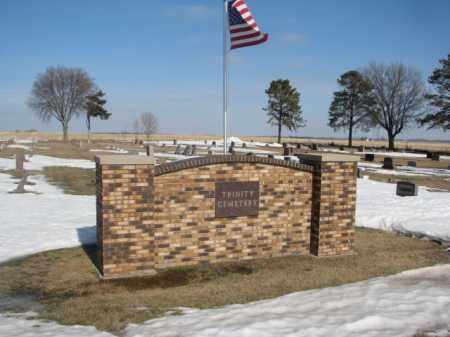 *TRINITY, ENTRANCE - Brookings County, South Dakota | ENTRANCE *TRINITY - South Dakota Gravestone Photos