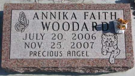 WOODARD, ANNIKA FAITH - Brookings County, South Dakota | ANNIKA FAITH WOODARD - South Dakota Gravestone Photos