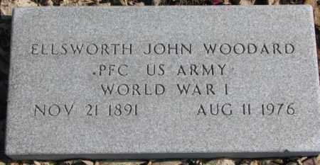 WOODARD, ELLSWORTH JOHN - Brookings County, South Dakota | ELLSWORTH JOHN WOODARD - South Dakota Gravestone Photos