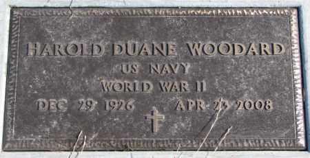 WOODARD, HAROLD DUANE (WW II) - Brookings County, South Dakota | HAROLD DUANE (WW II) WOODARD - South Dakota Gravestone Photos