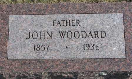 WOODARD, JOHN - Brookings County, South Dakota | JOHN WOODARD - South Dakota Gravestone Photos