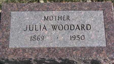 WOODARD, JULIA - Brookings County, South Dakota | JULIA WOODARD - South Dakota Gravestone Photos