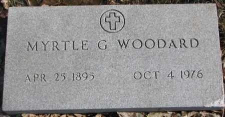 WOODARD, MYRTLE G. - Brookings County, South Dakota | MYRTLE G. WOODARD - South Dakota Gravestone Photos