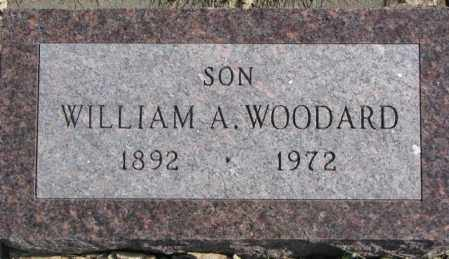 WOODARD, WILLIAM A. - Brookings County, South Dakota | WILLIAM A. WOODARD - South Dakota Gravestone Photos
