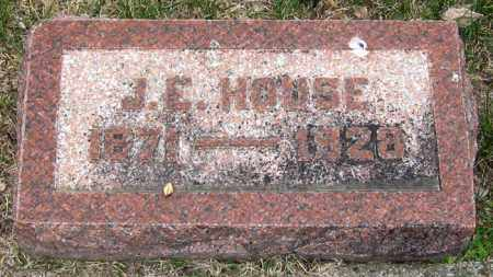 HOUSE, J.E. - Brule County, South Dakota | J.E. HOUSE - South Dakota Gravestone Photos