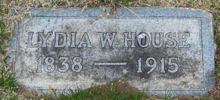 HOUSE, LYDIA - Brule County, South Dakota | LYDIA HOUSE - South Dakota Gravestone Photos