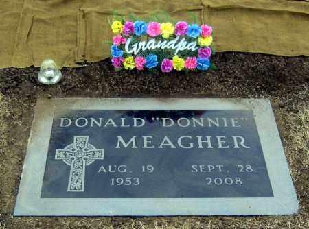 MEAGHER, DONNIE - Brule County, South Dakota | DONNIE MEAGHER - South Dakota Gravestone Photos