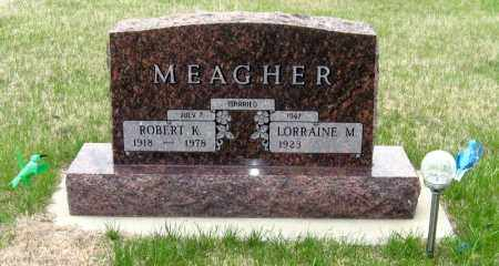 MEAGHER, ROBERT KENNETH - Brule County, South Dakota | ROBERT KENNETH MEAGHER - South Dakota Gravestone Photos