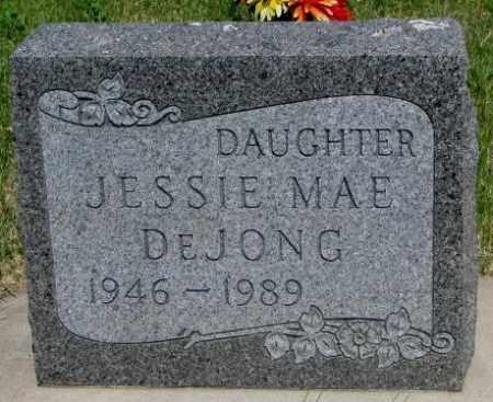 DEJONG, JESSIE MAE - Buffalo County, South Dakota   JESSIE MAE DEJONG - South Dakota Gravestone Photos